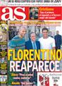 Portada diario AS del 18 de Noviembre de 2008