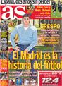 Portada diario AS del 19 de Noviembre de 2008