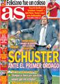 Portada diario AS del 22 de Noviembre de 2008