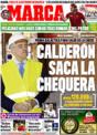 Portada diario Marca del 22 de Noviembre de 2008