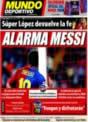 Portada Mundo Deportivo del 22 de Noviembre de 2008