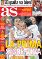 Portada diario AS del 23 de Noviembre de 2008