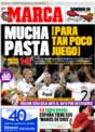 Portada diario Marca del 23 de Noviembre de 2008