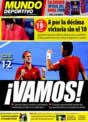 Portada Mundo Deportivo del 23 de Noviembre de 2008