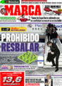 Portada diario Marca del 25 de Noviembre de 2008