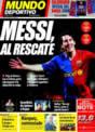 Portada Mundo Deportivo del 25 de Noviembre de 2008