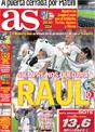 Portada diario AS del 26 de Noviembre de 2008