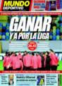 Portada Mundo Deportivo del 26 de Noviembre de 2008