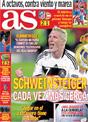 Portada diario AS del 27 de Noviembre de 2008