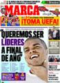 Portada diario Marca del 27 de Noviembre de 2008