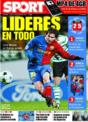 Portada diario Sport del 27 de Noviembre de 2008