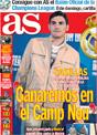 Portada diario AS del 28 de Noviembre de 2008