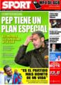Portada diario Sport del 28 de Noviembre de 2008