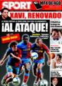 Portada diario Sport del 29 de Noviembre de 2008