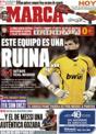 Portada diario Marca del 30 de Noviembre de 2008