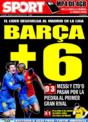 Portada diario Sport del 30 de Noviembre de 2008