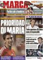 Portada diario Marca del 1 de Diciembre de 2008