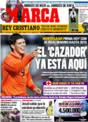 Portada diario Marca del 3 de Diciembre de 2008