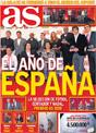 Portada diario AS del 4 de Diciembre de 2008