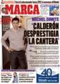Portada diario Marca del 4 de Diciembre de 2008