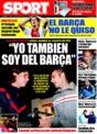 Portada diario Sport del 4 de Diciembre de 2008