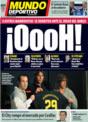 Portada Mundo Deportivo del 4 de Diciembre de 2008