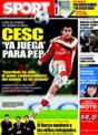Portada diario Sport del 5 de Diciembre de 2008