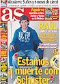 Portada diario AS del 6 de Diciembre de 2008
