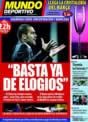 Portada Mundo Deportivo del 6 de Diciembre de 2008