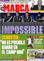 Portada diario Marca del 8 de Diciembre de 2008