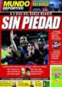 Portada Mundo Deportivo del 9 de Diciembre de 2008