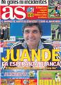 Portada diario AS del 10 de Diciembre de 2008