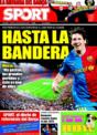 Portada diario Sport del 12 de Diciembre de 2008