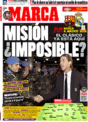 Portada diario Marca del 13 de Diciembre de 2008