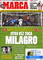 Portada diario Marca del 14 de Diciembre de 2008