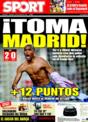 Portada diario Sport del 14 de Diciembre de 2008