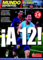 Portada Mundo Deportivo del 14 de Diciembre de 2008
