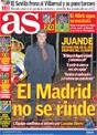 Portada diario AS del 15 de Diciembre de 2008