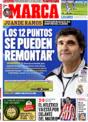 Portada diario Marca del 15 de Diciembre de 2008