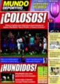 Portada Mundo Deportivo del 15 de Diciembre de 2008