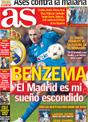 Portada diario AS del 16 de Diciembre de 2008