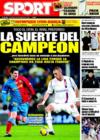 Portada diario Sport del 20 de Diciembre de 2008