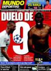 Portada Mundo Deportivo del 20 de Diciembre de 2008