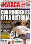Portada diario Marca del 21 de Diciembre de 2008