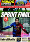 Portada Mundo Deportivo del 21 de Diciembre de 2008