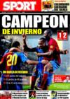 Portada diario Sport del 22 de Diciembre de 2008