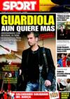 Portada diario Sport del 23 de Diciembre de 2008