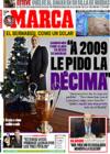 Portada diario Marca del 24 de Diciembre de 2008