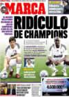 Portada diario Marca del 26 de Diciembre de 2008