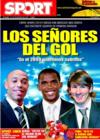 Portada diario Sport del 26 de Diciembre de 2008